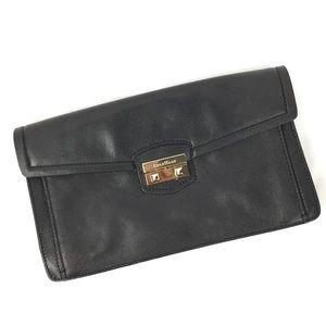 Cole Haan black clutch bag